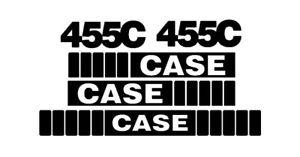 CASE STYLE STICKER DECALS SET TRACTOR LOADER HARVESTER