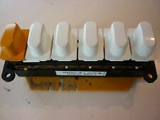 Genuine Miele W800 push button switch- 4363860- fits early series W800 washers
