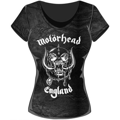 Rock Off commerce RockOff commerce Women/'s England Acid Wash T-shirt XX-Large gris