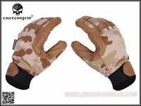 Emerson Tactical Lightweight Camouflage Gloves (multicam Arid) Xl Size Bd8725c