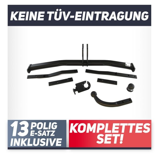 7-pol E-Satz Anhängerkupplung starr Für Renault Scenic III 09-13