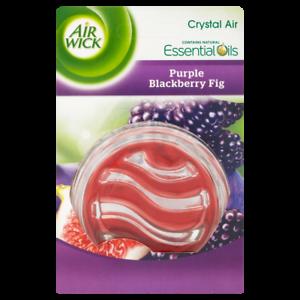 1 X Nouveau Air Wick Airwick Crystal Désodorisant huiles Fresh Violet Blackberry fig