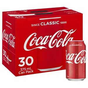30-Multi-Pack-Coca-Cola-Classic-Coke-Canned-Soft-Drink-Refreshment-375mL