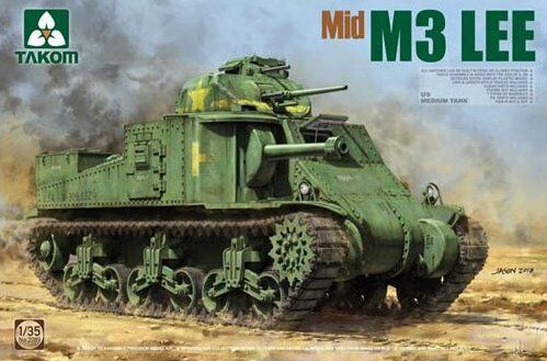 Takom 1 35 M3 Lee Mid Production US Medium Tank