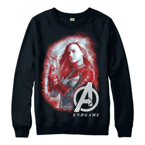 Captain Marvel Jumper Avengers Legends Endgame Comics Adult /& Kids Jumper Top