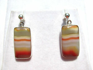 Achat-Ohrhaenger-Agate-Earrings-925-Silber-Nr-E7434