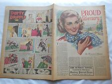 -PROUD ADVERSARY-THE SUNDAY NOVEL-PATRIOT-NEWS-HBG,PA-APRIL 27,1952