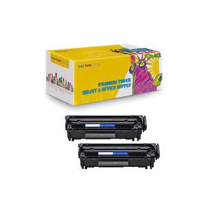2-Pack-Compatible-Q2612A-Laser-Toner-Cartridge-For-HP-LaserJet-M1319-M1319f