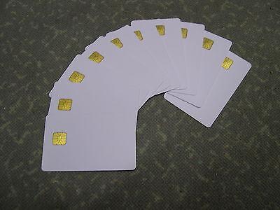10 x Chipkarten blanko Programmierbar, Kundenkarten für Studios, Center, Anlagen