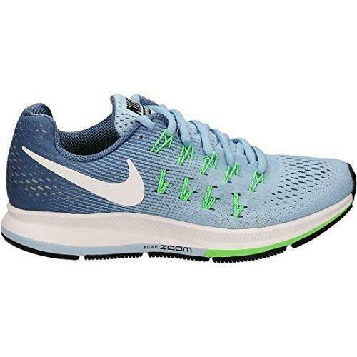 7ace8bfcc674f Nike WMNS Air Zoom Pegasus 33 Running Womens Shoes Bluecap 831356-402 UK 4  for sale online