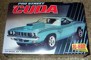 ~JO-HAN~ PRO STREET 'CUDA 1/25 #S1001 ***NIB*** NEW IN BOX!