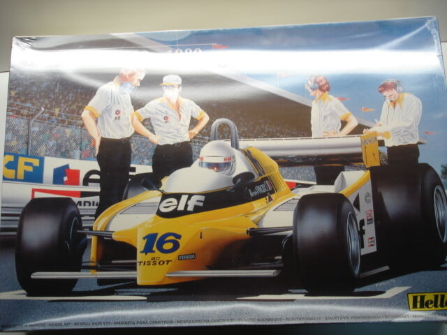 Heller 1 12 Big Scale Renault RE-20 Turbo Formula 1 - Rene Arnoux   JP Jabouille