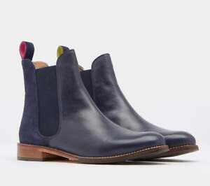 Joules-Westbourne-Leather-Chelsea-Boots-Navy