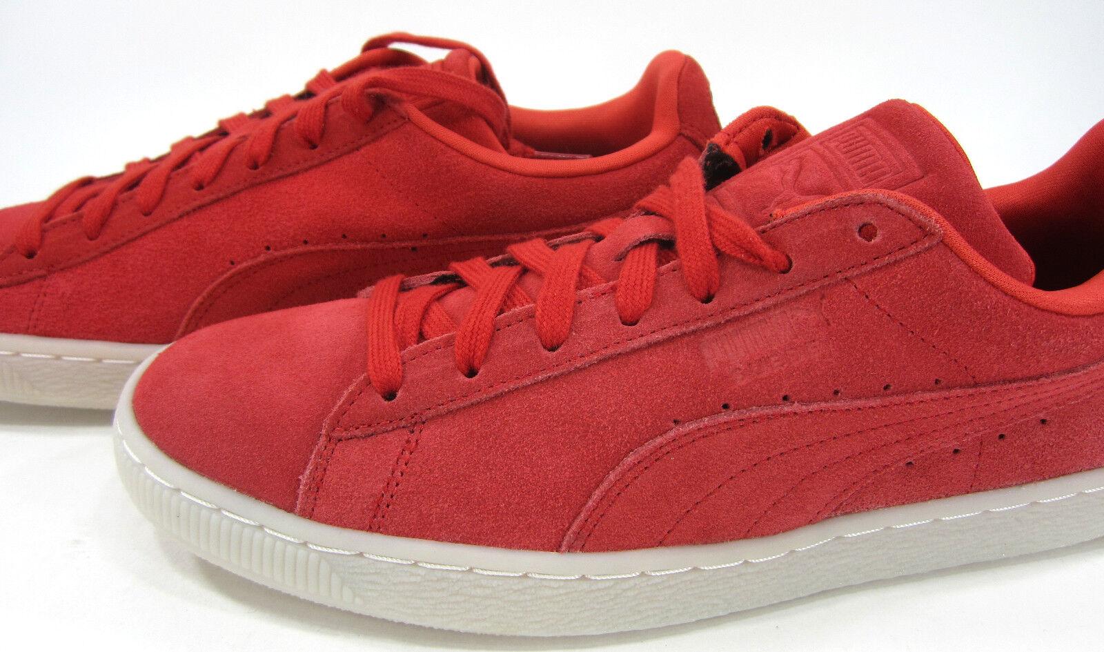 e7d4f0ee18f ... Puma Zapatos Gamuza Clásico Zapatillas de color de de de alto riesgo  Rojo 33cfce