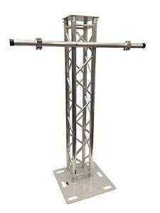 6-56FT-2-Meter-Aluminum-Plasma-TV-Mount-Stand-Stage-Club-DJ-Lighting-Truss-Tower