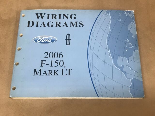 2006 Oem Ford F150 Lincoln Mark Lt Shop Manual Wiring Diagram Service Book
