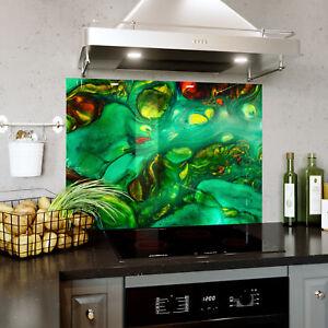 Splashback En Verre Cuisine Cuisinière Peinture Abstraite Art Photo Toute Taille 0512-afficher Le Titre D'origine à Vendre