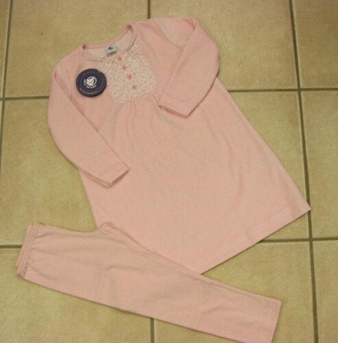 NUOVO! Nicky con legging Sonno Vestito//Camicia da notte di Petit Bateau rosa
