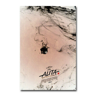 Alita Battle Angel Hot Movie Art Canvas Poster Print 12x18 24x36 inch