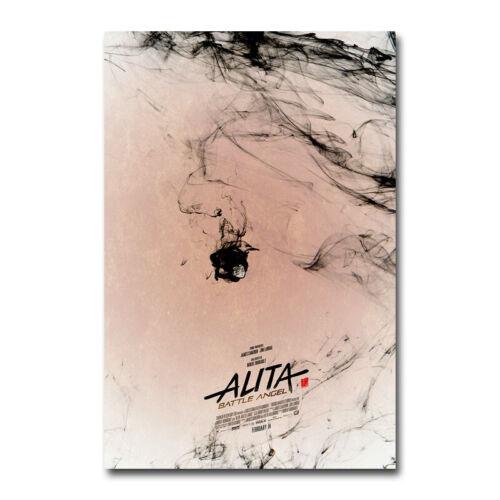 Art Alita Battle Angel 2019 Hot Movie Silk Canvas Poster Wall Art Print 24x36/'/'