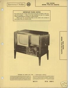 RCA-Victor-Model-7T132-TV-Sams-PhotoFact-Tech-Docs