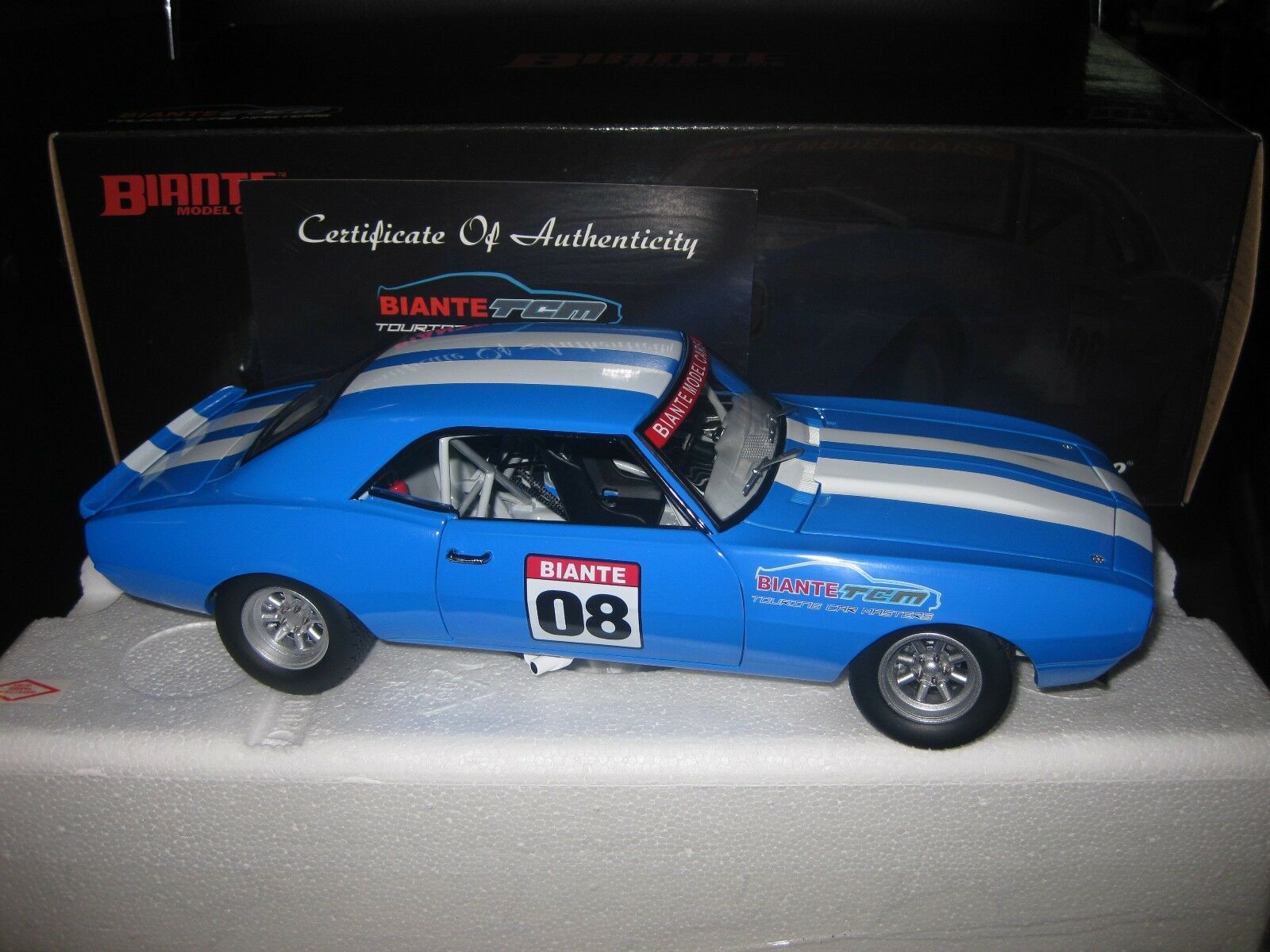 1.18 1968 CHEVROLET CAMARO 2008 BIANTE TOURING CAR MASTERS TCM LTD ED BY GMP