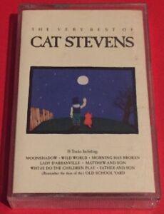CAT-STEVENS-THE-BEST-OF-039-GREATEST-HITS-039-FOLK-ROCK-CASSETTE-TAPE-Album