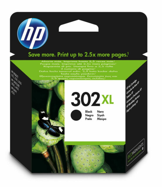 HP 302 XL Black Ink Cartridge for Envy 4520 Printer