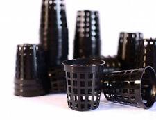 25 x Net Pots Mesh Teku Black Plastic 5cm Orchid Seedling Hydroponics