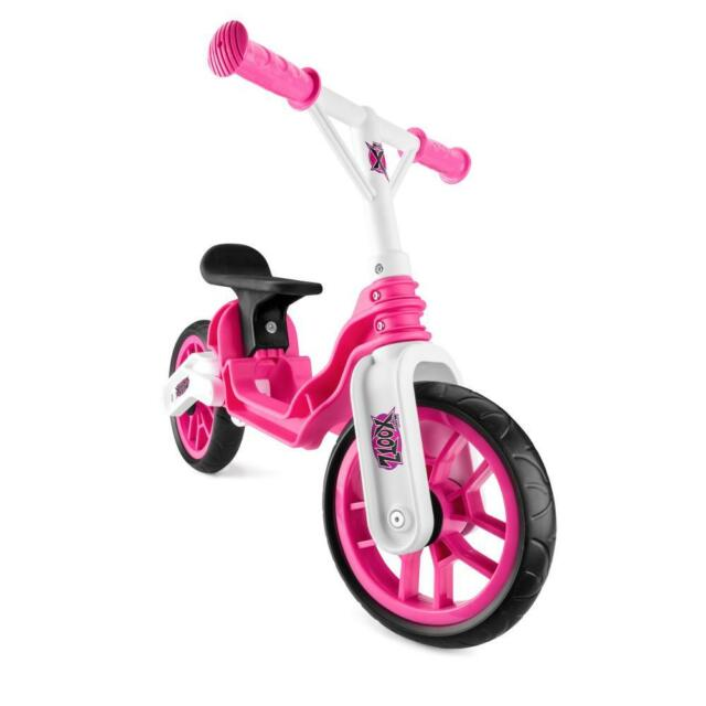 59d456788c2 Xootz Toddler Kids Girls Folding Training Balance Bike Bicycle Pink TY5472