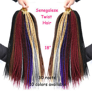 18-034-Kanekalon-Braiding-Hair-Extension-30-Strands-Pack-Freetress-Crochet-Braids