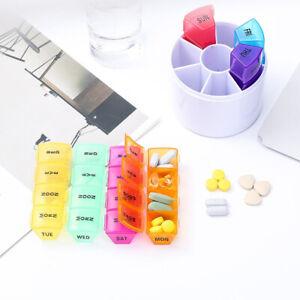 Daily-Pill-Box-Organiser-Medicine-Tablet-Storage-Weekly-Dispenser-7-Day-Week-HOT