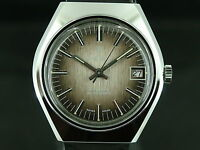 Gents Vintage Lincoln Automatic Watch Circa 1970s Swiss Old Stock