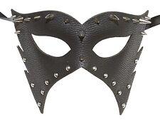 Men's Leather Masquerade Mask Dominatrix 50 Shades of Gray PU Prom Wedding Gift