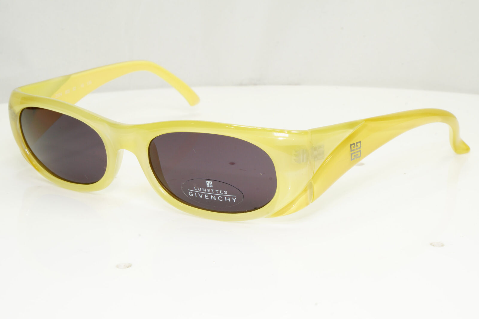 Authentic Givenchy Womens Vintage Sunglasses Yellow 2504 003 Ocher 33163