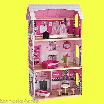 KIDKRAFT Großes Puppenhaus Bonita Rosa Dollhouse Nr 65832 Pink
