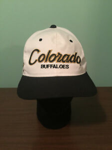 0a11f4745b3 Image is loading Vtg-Colorado-Buffaloes-Script-Sports-Specialties-The-Twill-