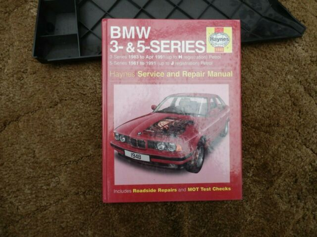 Bmw 3 5 Series E34 1981 1991 Haynes Service And Repair Manual 1948 For Sale Online Ebay