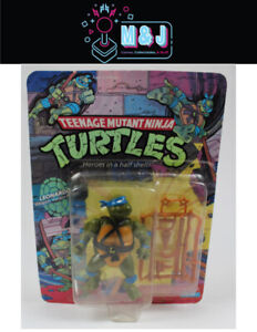 ORIGINAL 1988 TMNT Vintage Figurine- Leonardo *Rare*  (Aussie Seller)