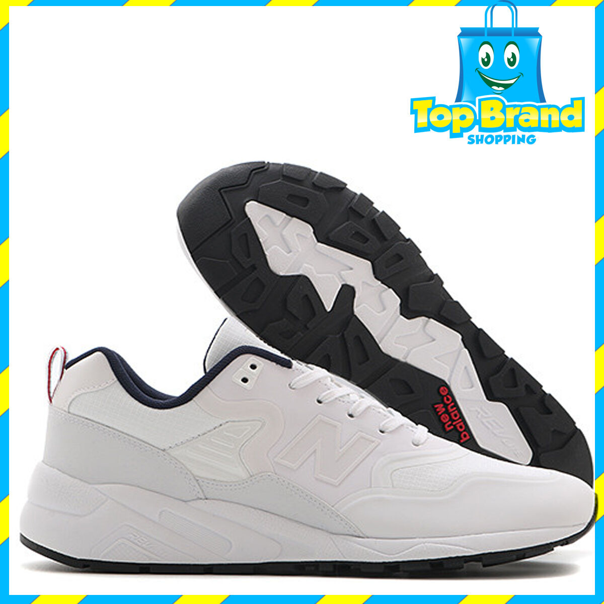 New Balance Mens Classic Sneakers MRT580TW Rare Lifestyle D width