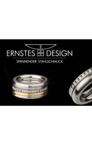 Ernstes Design Ring ED vita Vorsteckring Beisteckring mit Perle R267 breit 5 mm