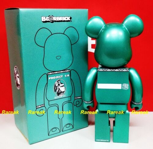 Be@rbrick 2014 Project 1//6 Centurion 400/% Chrome Green Color Bearbrick 1pc