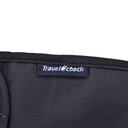 FR/_Secure passeport cou Pochette argent cordon vêtements portefeuille organis I
