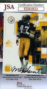 Mel-Blount-1999-Upper-Deck-Jsa-Coa-Hand-Signed-Authentic-Autograph
