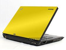 YELLOW Vinyl Lid Skin Cover Decal fits IBM Lenovo Thinkpad T400 Laptop