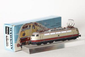 Marklin-H0-3053-Locomotive-Electrique-Db-E-03-002-un-Rouge-Rayures