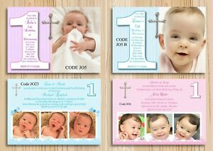 Image Is Loading Girl Amp Boy Joint Christening First Birthday