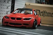RC Body1/10 scale model BMW M3 e92 Liberty walk to fit Tamiya MST Yokomo