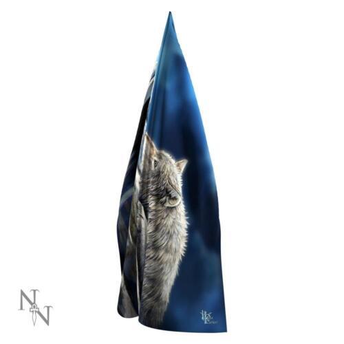 Quiet Reflection wolf Scarf Lisa Parker artwork Nemesis Now designer collection