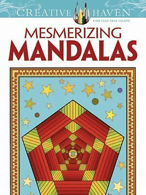 Mesmerizing Mandalas - A Creative Haven Adult Coloring Book from Dover